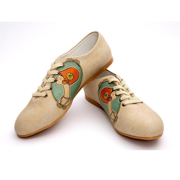 Elegant Woman Ballerinas Shoes SLV005