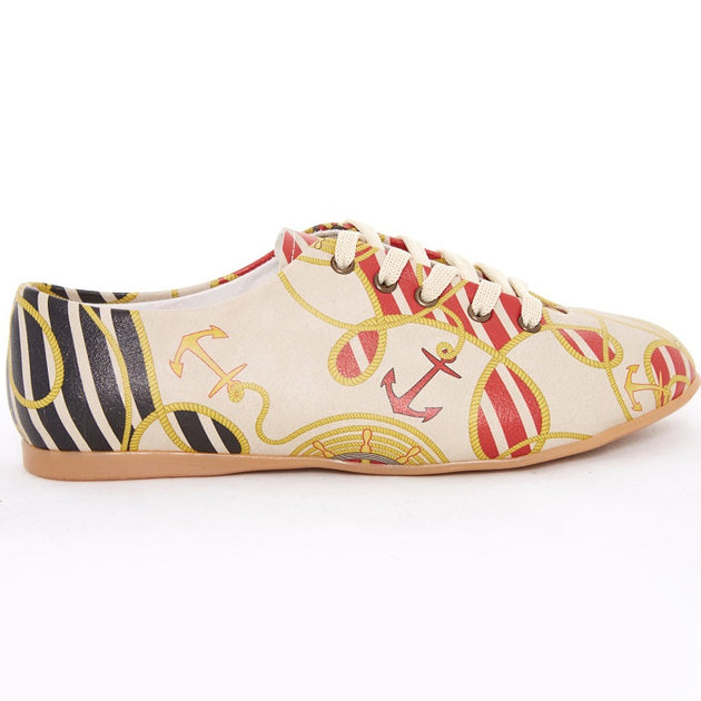 Goby SLV76 Sailing Women Ballerinas Shoes - Goby Shoes UK