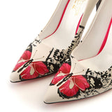 Butterfly Heel Shoes STL4009, Goby, GOBY Heel Shoes