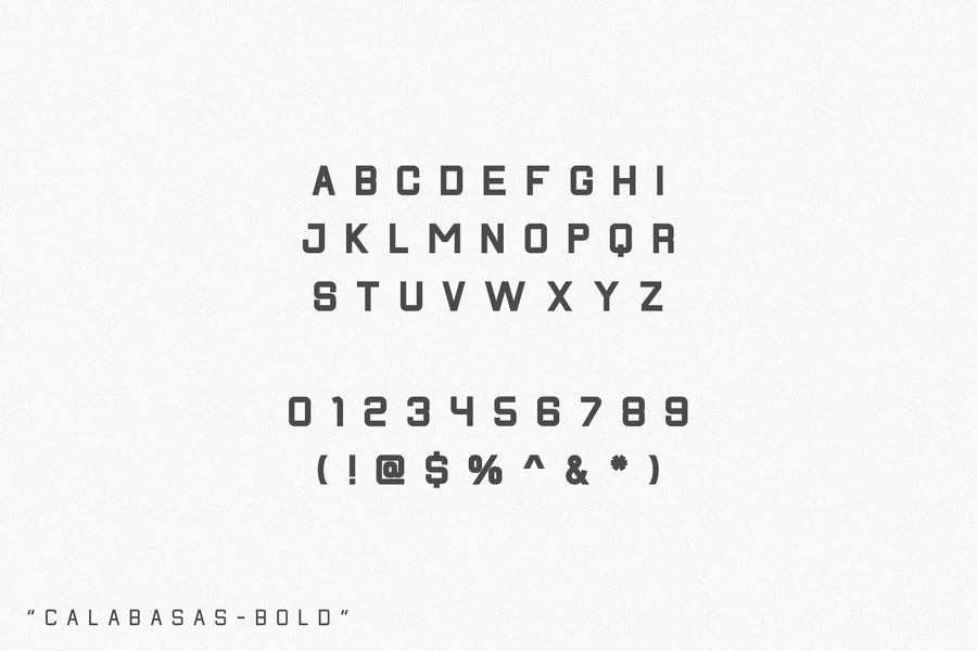 Calabasas | Display Font Family