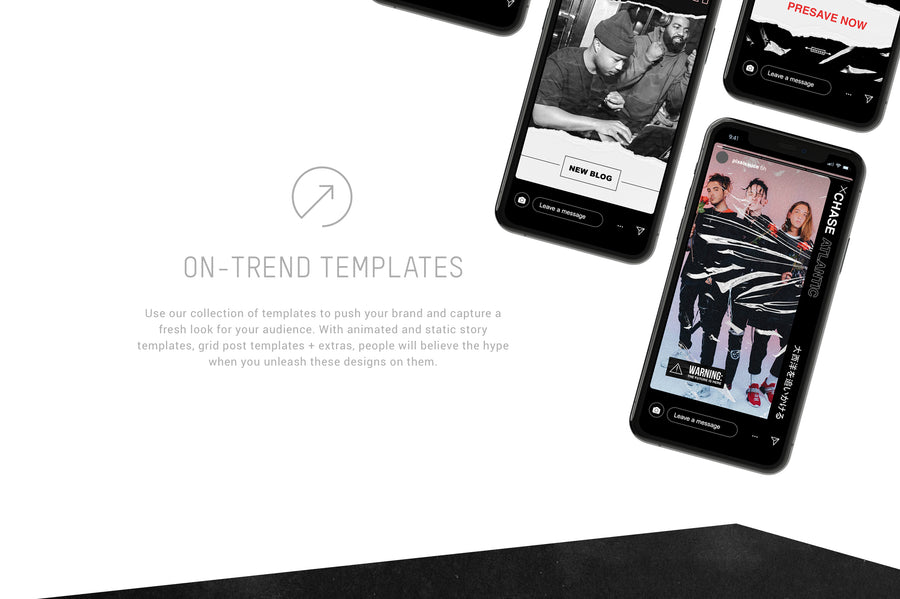 Hype Instagram Story & Post Templates