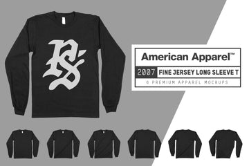 American Apparel 2007 Long Sleeve T-Shirt