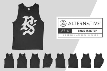 Alternative 4871C1 Tank Top Mockups
