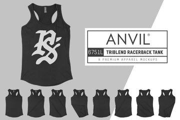 Anvil 6751L Women's Racerback Tank