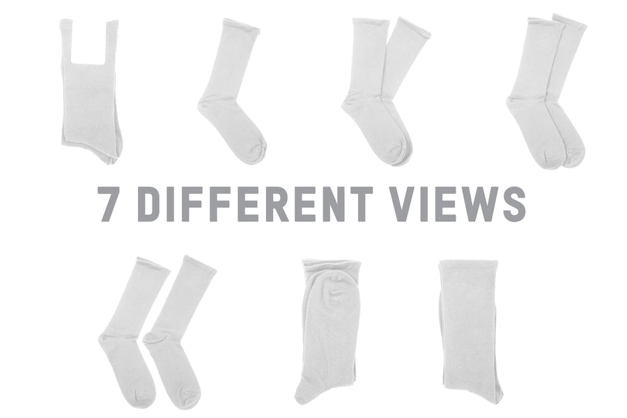 AS Colour 1203 Calf Sock Mockups