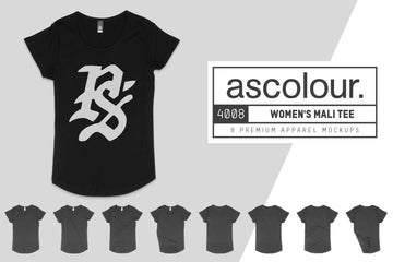 AS Colour 4008 Mali T-Shirt  Mockups