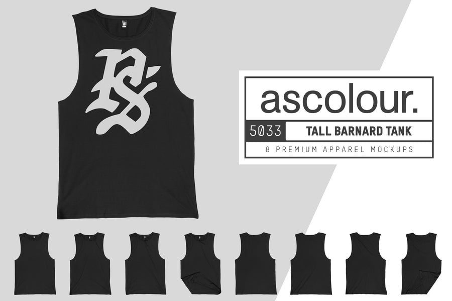AS Colour 5033 Tall Barnard Tank Tee