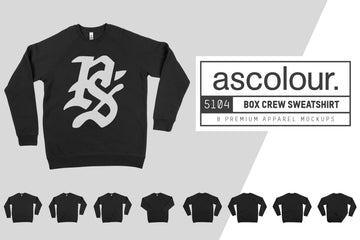 AS Colour 5104 Box Crew Sweatshirt