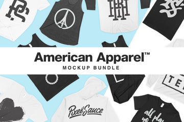 American Apparel Mockups Bundle