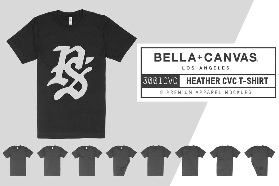 Bella Canvas 3001CVC Heather CVC Tee