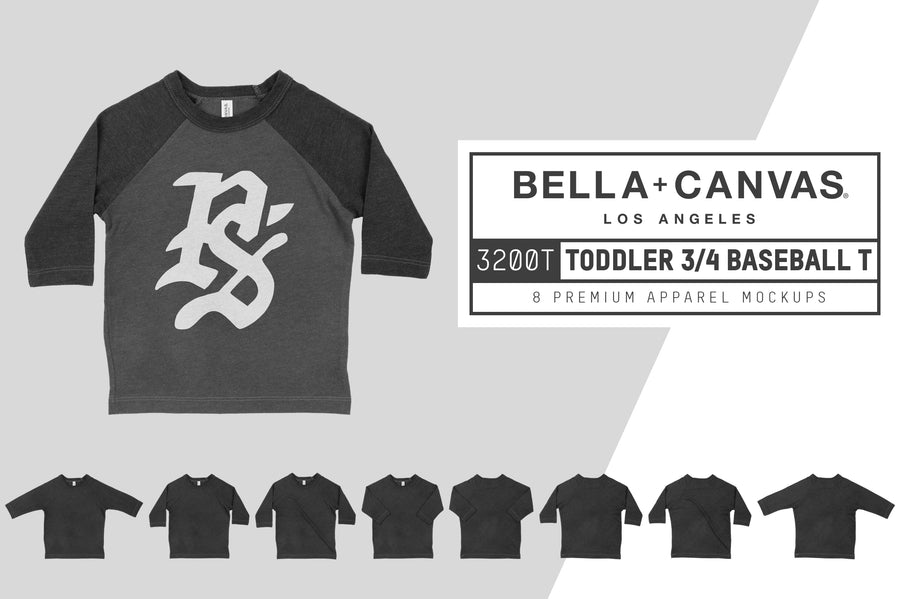 Bella Canvas 3200T Toddler Raglan