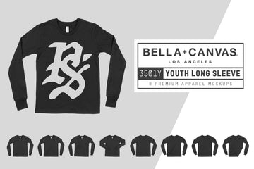 Bella Canvas 3501Y Youth Longsleeve T-Shirt