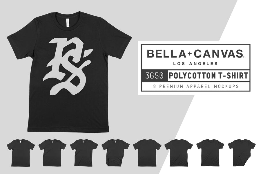 Bella Canvas 3650 Unisex Poly-Cotton T-Shirt