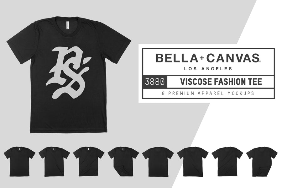 Bella Canvas 3880 Viscose T-Shirt