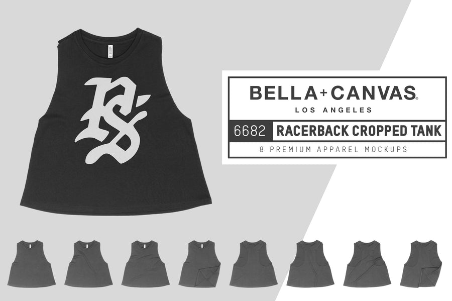 Bella Canvas 6682 Cropped Tank
