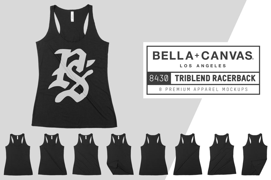 Bella Canvas 8430 Triblend Racerback