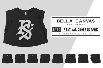 Bella Canvas 8483 Cropped Tank