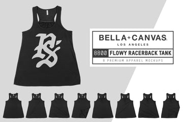 Bella Canvas 8800 Women's Racerback