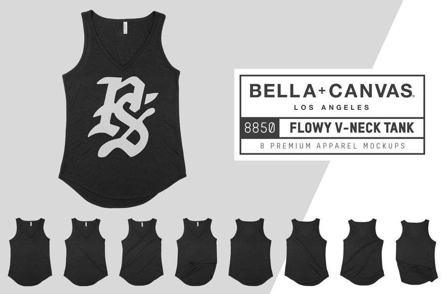 Bella Canvas 8805 Flowy V-Neck Tank