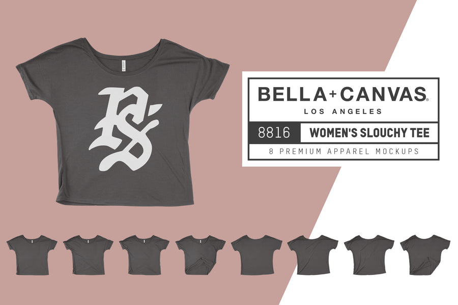Bella Canvas 8816 Women's Slouchy Tee