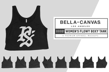 Bella Canvas 8880 Flowy Boxy Tank
