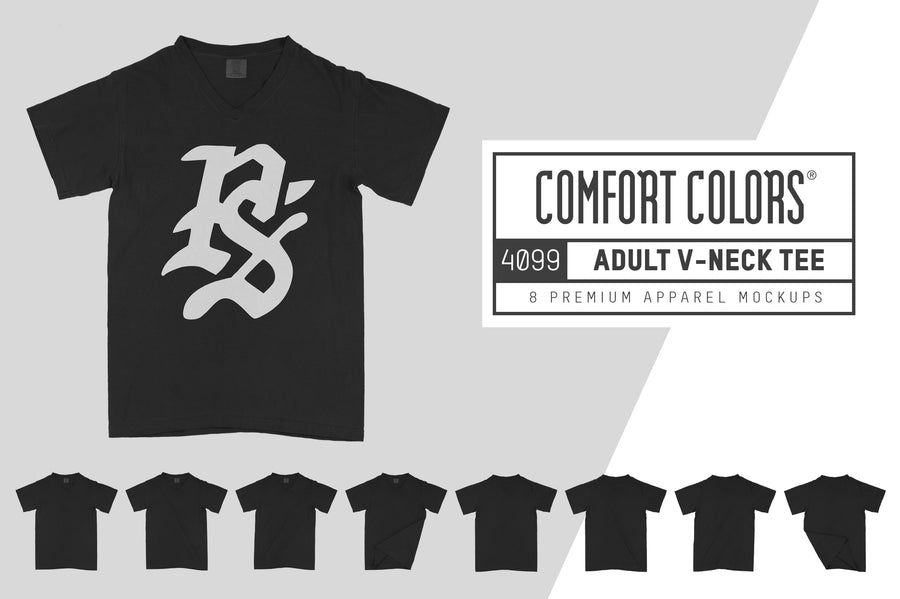 Comfort Colors 4099 Adult V-Neck T-Shirt