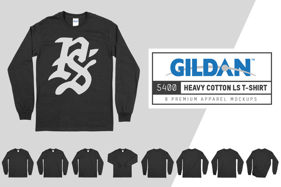 Gildan 5400 Heavy Cotton Longsleeve T-Shirt