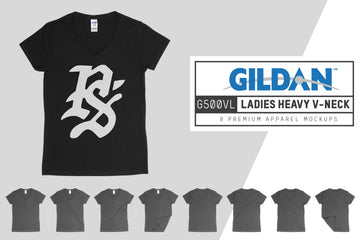 Gildan G500VL Ladies Heavy V-Neck