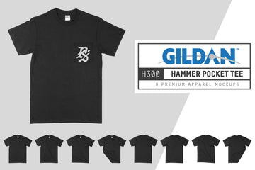 Gildan H300 Hammer Pocket T-Shirt