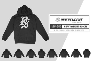 Independent 4000 Heavyweight Hoodie