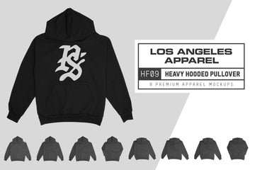 LA Apparel HF09 Hooded Sweatshirt