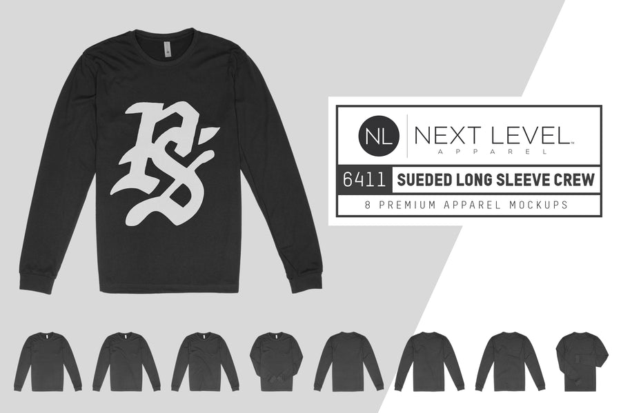 Next Level 6411 Long Sleeve Crew