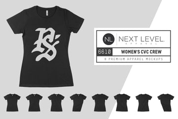 Next Level 6610 Women's CVC Crew T-Shirt