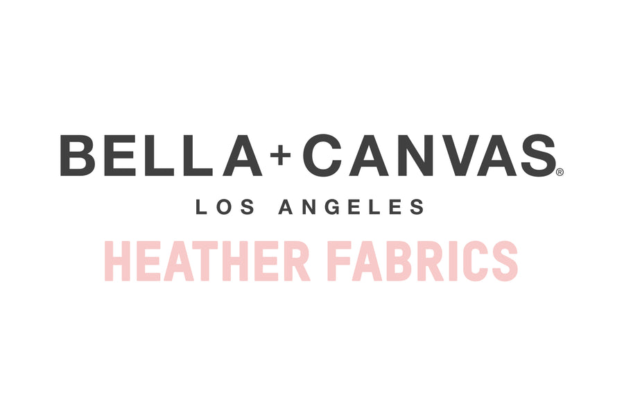 Bella Canvas Heather Fabrics