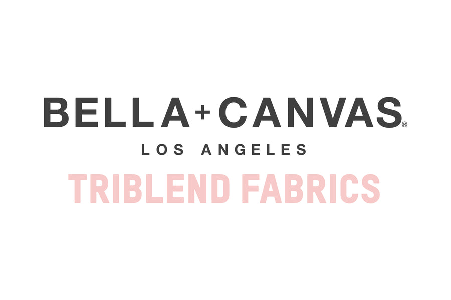 Bella Canvas Triblend Fabrics