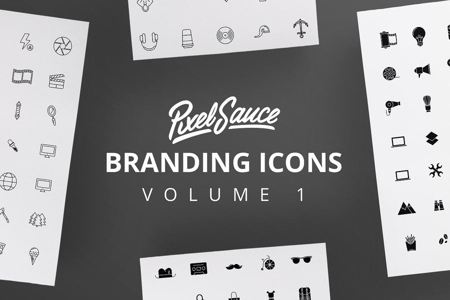 Branding and Logo Icons Vol 01