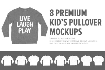 Premium Kid's Crewneck Mocks
