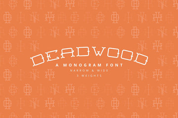 Deadwood - A Monogram Font Family