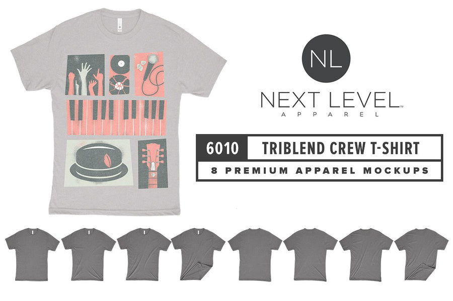 Next Level 6010 Triblend T-Shirt