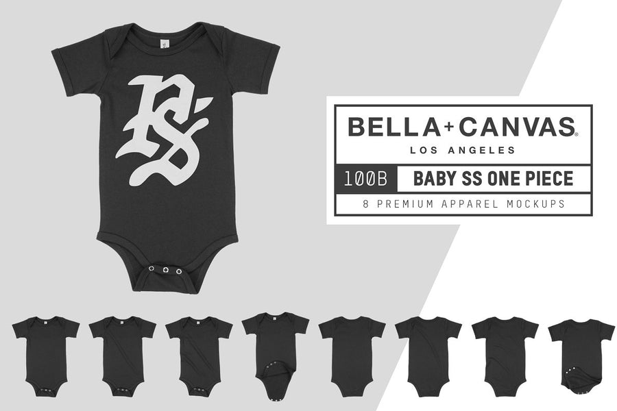 Bella Canvas 100B Baby One Piece