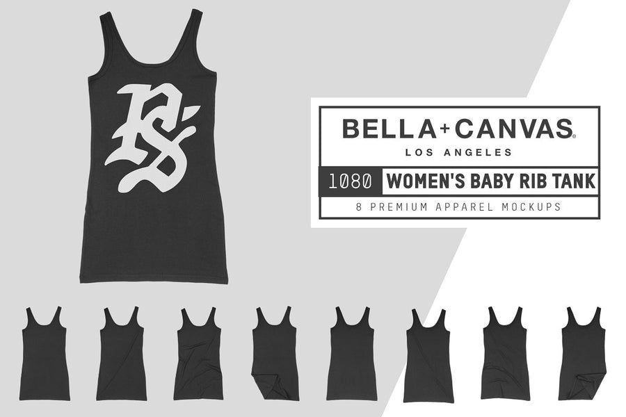 Bella Canvas 1080 Women's Rib Tank