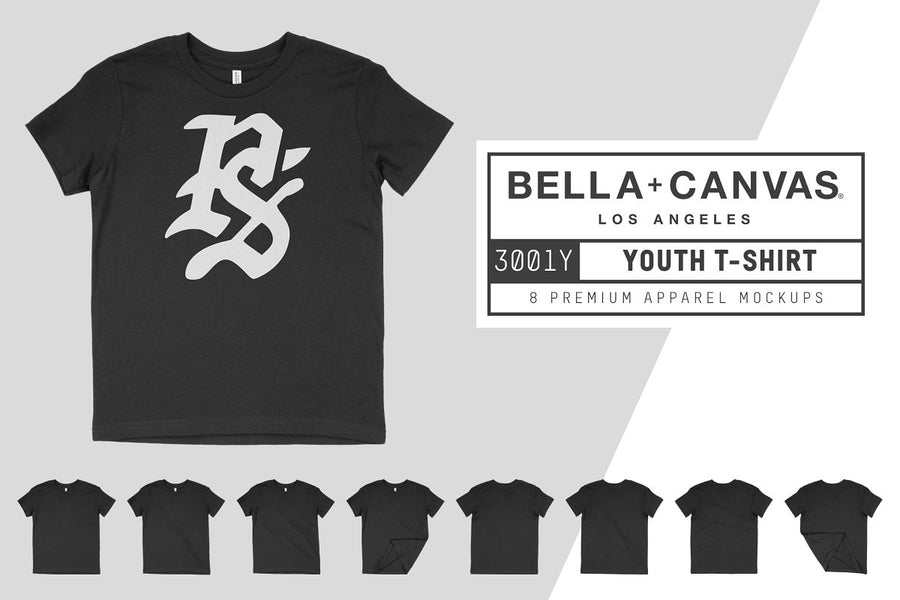 Bella Canvas 3001Y Youth T-Shirt