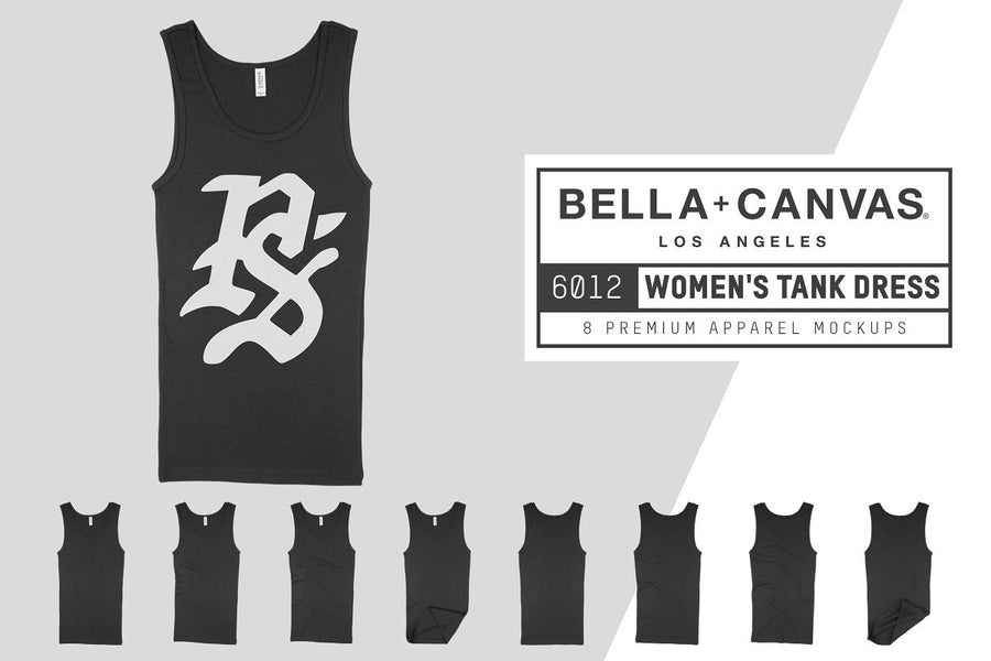 Bella Canvas 6012 Women's Tank Dress