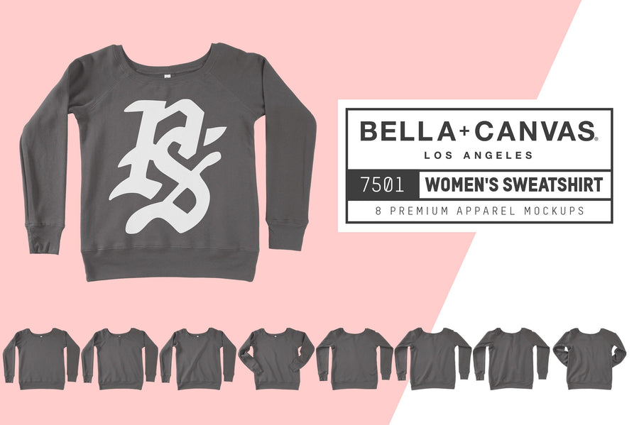 Bella Canvas 7501 Women's Sweatshirt