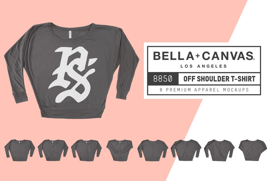 Bella Canvas 8850 Off Shoulder Tee