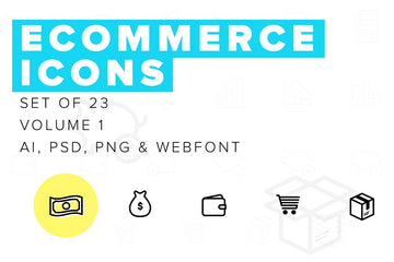 Ecommerce Icons Vol 01