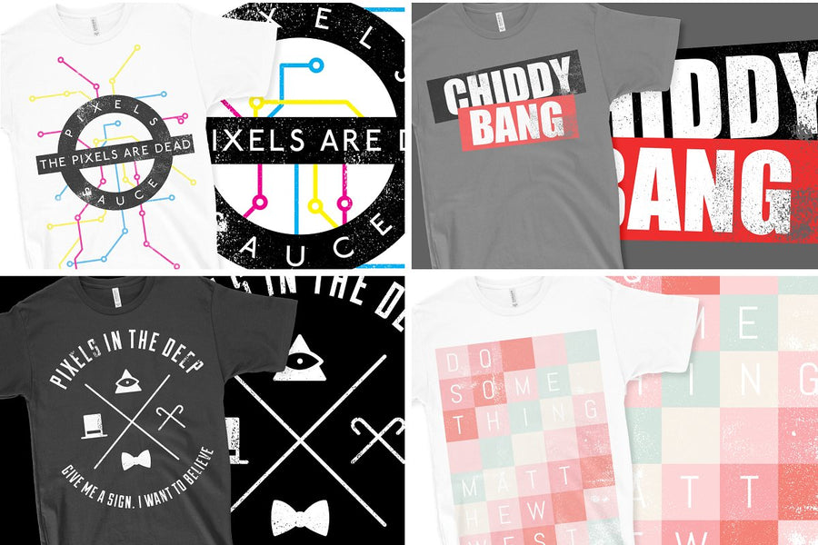 T-Shirt Graphics Collection v01