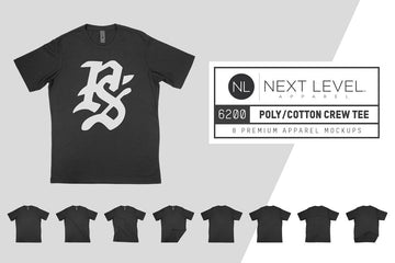 Next Level 6200 Poly Cotton T-Shirt