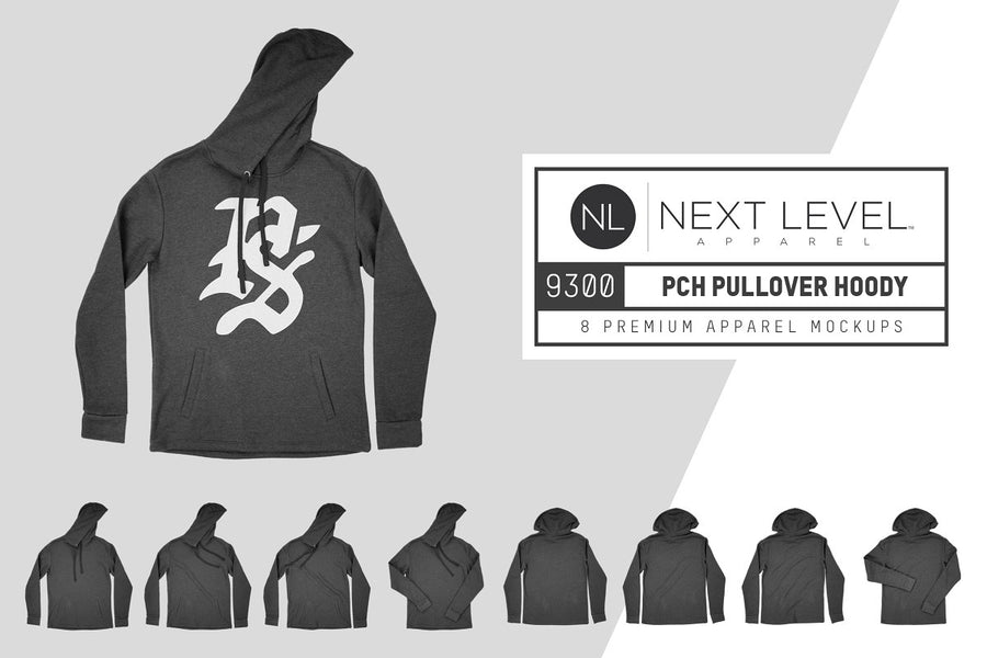 Next Level 9300 PCH Pullover Hoody