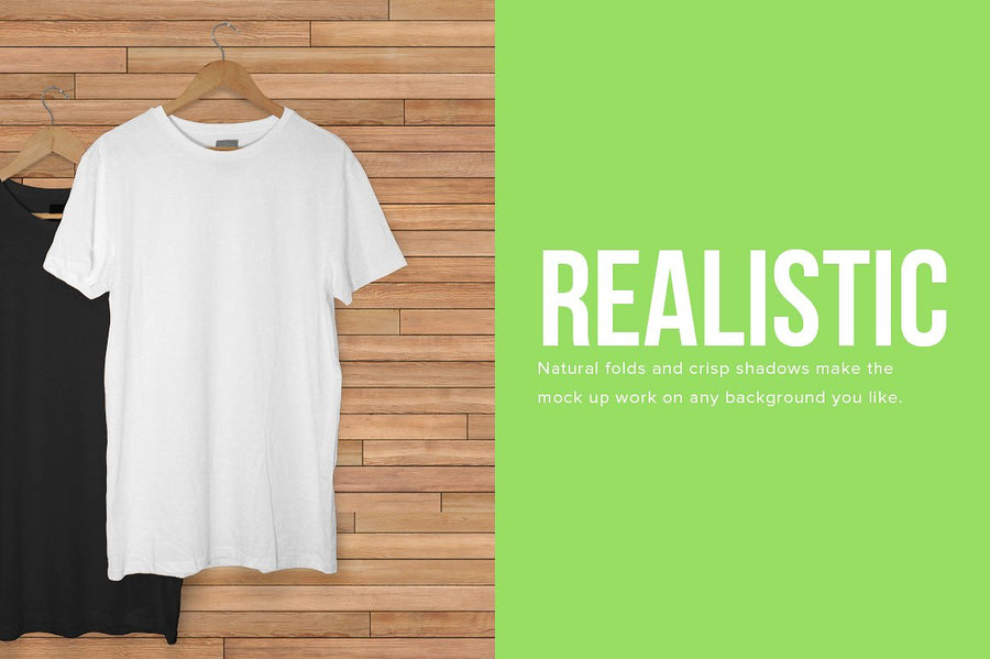 Hanging T-Shirt Mock Up